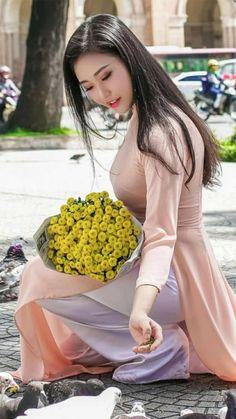 Vietnamese long dress (Ao dai)