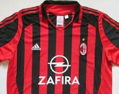 8d9e0476e Ac milan 2005 2006 home football shirt maglia jersey adidas calcio italy  size xl