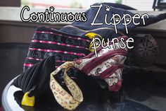 How to sew a continuous zipper purse/pouch (zipit purse/pouch). Zipper Bags, Zipper Pouch, Sewing Tutorials, Sewing Projects, Pouch Tutorial, Baby Car Seats, Zip Purses, Pouches, Youtube