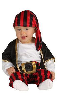 Disfraz de Pirata Chaleco bebé