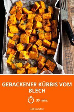 Gebackener Kürbis vom Blech - smarter - Zeit: 30 Min. | eatsmarter.de