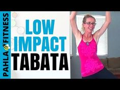 LOW IMPACT (Quiet) Bodyweight Tabata | 25 Minute Cardio, Strength + Balance Home Workout - YouTube