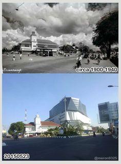Gedung Pertamina Semarang tempo dulu