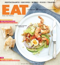 """""""If words like unpretentious, rustic, and float your boat, try ~ A Hand-Written Patio Prescription via Spot Prawns, Hand Written, Halibut, I Foods, My Recipes, Sunny Days, Sushi, Rolls, June"""