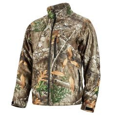 d78f438a071fb Milwaukee Men's Medium M12 12-Volt Lithium-Ion Cordless Black Heated Jacket  (Jacket Only)