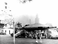 Retro Photos of The First McDonald's Restaurant