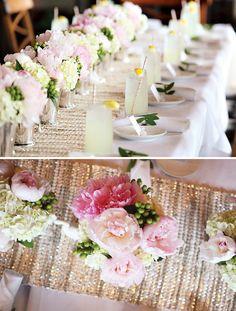 Romantic & Fresh Cameo Bridal Shower   Beautiful!
