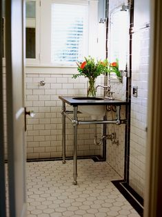 1920 bathroom design---PERFECT for the office renovation!!