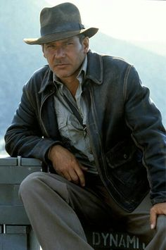 Harrison Ford as Indiana Jones (sigh!)
