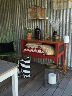 Vintage Industrial Cabinet on Castors  By Molly & Dutch