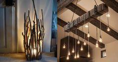Ein licht in der finsternisu2026u2026.11 rustikale und originelle diy lampen
