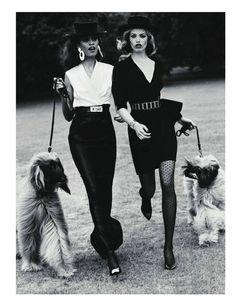 #винтаж #ретро #эротика #vintage #retro #erotica #классика #собака #ladies #dog