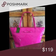 "🎀 Kate Spade CAMELLIA ST PURSE Pink $198 Sophie NWT Kate Spade CAMELLIA STREET PURSE TOTE Pink Sapphire $198 Sophie.  11x19x5"" kate spade Bags Totes"