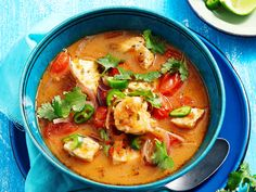 Spice up dinner tonight with this authentic flavoursome Mexican spicy fish soup! Full of fresh, wholesome ingredients - the whole family will be coming back for more!