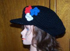 Slouchy Cabbie Hat Hand Crochet Custom Unisex Visor by NovaBlondie Knit Or  Crochet e245ce4f2838