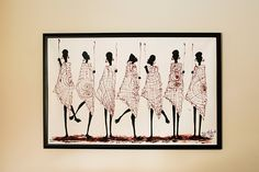 There are many ways to perk up a bare wall. It can be a painting, ethnic art or anything means to you; only if walls could talk right? African Paintings, Contemporary African Art, South African Artists, African Masks, Cape Town, Walls, Museum, History, Interior