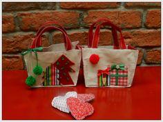 Bolsinha para embalar presentes
