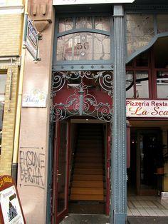 Iron door, Trier, Germany by j.labrado, via Flickr