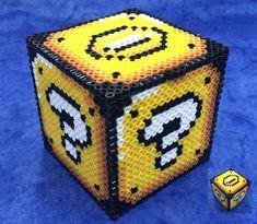 Mario coin box ucha Hama by Hamamia