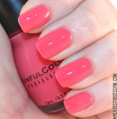 Sinful Colors - Scandal.  Best nail polish ever!!