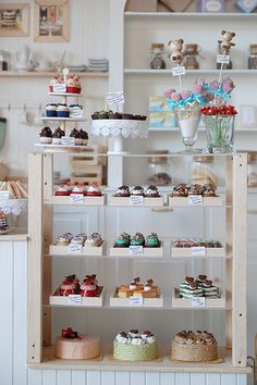 cake shop At My Sweet Shop Bakery Decor, Bakery Interior, Cafe Interior Design, Cafe Design, Cupcake Shop Interior, Bakery Ideas, Cake Shop Design, Coffee Shop Design, Bakery Design