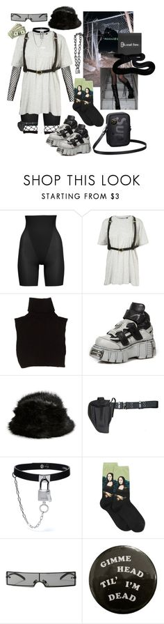 """Untitled #171"" by jessieupfield ❤ liked on Polyvore featuring SPANX, Marc Jacobs, Parkhurst, Holster, HOT SOX, Louis Vuitton, Baudelaire and Replay"