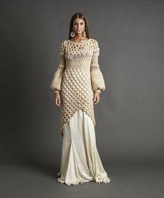 Интересные вязаные платья с нестандартным подходом | 5plus | Яндекс Дзен