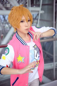 Hazuki Nagisa | Free! this is a really good cosplay :)