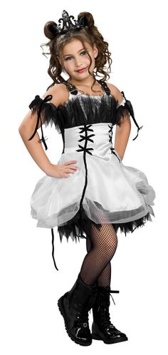 pictures ofhalloween costumes for kids gothic ballerina girls costume child costumes