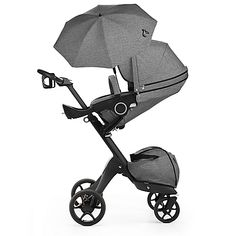 Stokke Xplory(R) True Black Stroller Baby Needs, Baby Love, Baby Baby, Baby Stroller Accessories, Jogging Stroller, Everything Baby, Baby Gear, Future Baby, New Baby Products