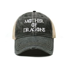 Game of Thrones Baseball Buckets, Baseball Cap, Trump Hat, Mother Of Dragons, Husband Love, Dad Hats, Metal Buckles, Primary Colors, Dads