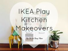 Australian Ikea Duktig Play Kitchen easy makeover and hacks for the Oh So Busy Mum. Ikea Play Kitchen, Toy Kitchen, Play Kitchens, Diy For Kids, Crafts For Kids, Ikea Decor, Kitchen Design Open, Big Girl Rooms, Baby Crafts