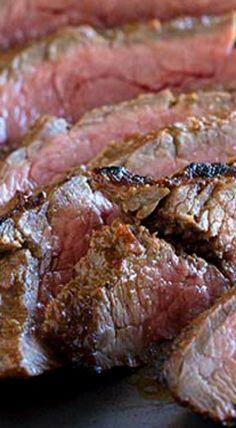 Balsamic Grilled Flank Steak