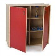 Mueble escolar intermedio armario 6 casillas