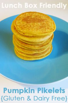 Post image for Lunch Box Friendly: Pumpkin Pikelets – Gluten, Dairy & Sugar Free Dairy Free Recipes For Kids, Sugar Free Recipes, Baby Food Recipes, Dairy Recipes, Yummy Recipes, Toddler Meals, Kids Meals, Toddler Food, Baby Meals