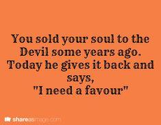 Soul refund.