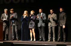 #DenisVilleneuve e il cast di #Prisoners al #TIFF13! #PrisonersFilm, con #HughJackman e #JakeGyllenhaal, è al cinema dal 7 novembre! #WarnerThriller