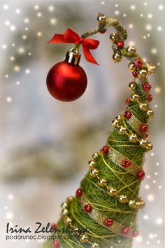 новогодний топиарий Елочка в валенках / Christmas tree topiary and many others interesting things