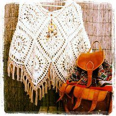 """Feito à mão em crochet. Fio 100% algodão Fio de camurcinha com """"cata sonhos"""" amovível 79"""