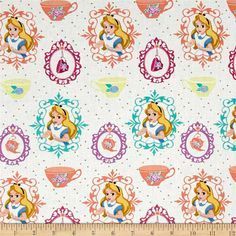 Alice in Wonderland Baby Toddler Blanket by GeekBoutiqueDesigns