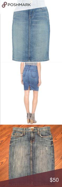 Current Elliott demin skirt Cute skirt never worn. Current/Elliott Skirts