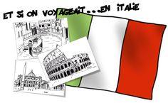 Rome et venise- Le loup qui voulait faire le tour du monde - Bout de gomme