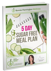 5 Day Sugar-Free Meal Plan - includes recipes and shopping list and tips that will make going sugar-free a no-brainer.