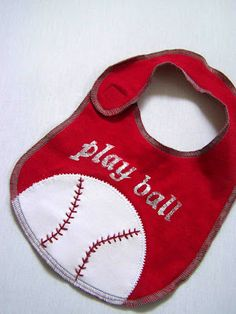 Made by Me. Shared with you.: Dribble Baby Bibs Pattern/Tutorial: Sport Edition
