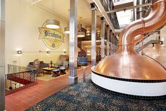 Brewhouse Inn & Suites, Milwaukee, by Landmark Restaurant Equipment & Design.