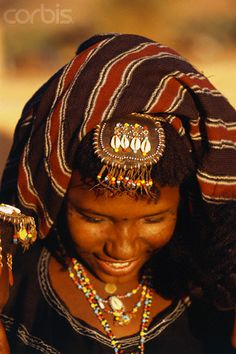 Africa | Woman of wodaabe tribe, Niger | © Frans Lemmens