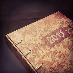 ardeas / Dámsky diár 2015 (medium- A6) / diary 2015 / for women / handmade / belgian bookbinding/ baroc