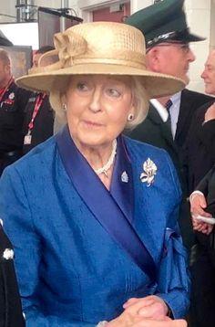 May 29, 2019 | Royal Hats Straw Fedora, Fedora Hat, Tracy Miller, Princess Alexandra, Queen Silvia, Royal Ascot, Folk Costume, White Silk, Black Button