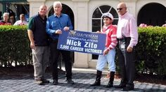 Hall of Fame trainer Nick Zito saddled the 2,000th winner of his career Jan. 16 at Gulfstream Park, when Forever Plus registered a gate-to-wire victory under Nik Juarez in the second race.