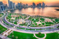 Sharjah corniche by PrinceAnis